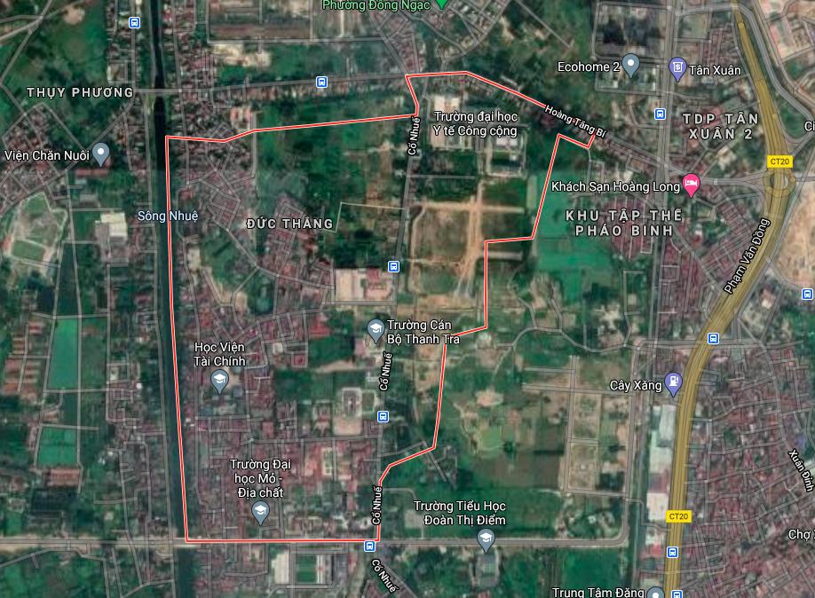 Kế hoạch sử dụng đất phường Đức Thắng, Bắc Từ Liêm, Hà Nội năm 2021 - Ảnh 2.