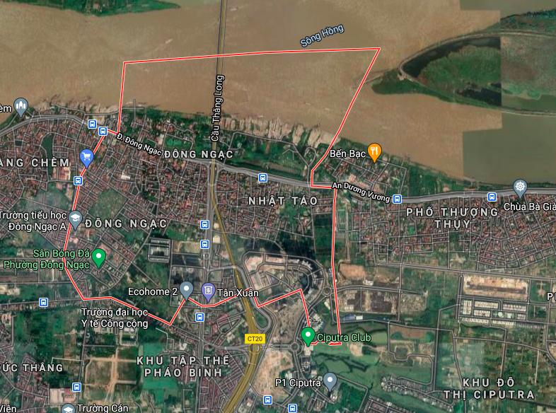 Kế hoạch sử dụng đất phường Đông Ngạc, Bắc Từ Liêm, Hà Nội năm 2021 - Ảnh 2.