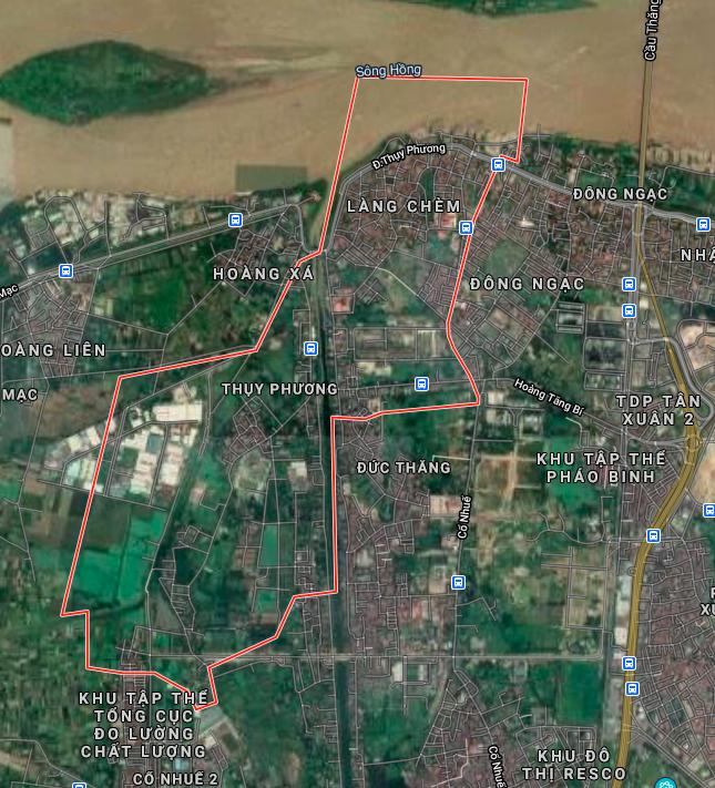 Kế hoạch sử dụng đất phường Thuỵ Phương, Bắc Từ Liêm, Hà Nội năm 2021 - Ảnh 2.