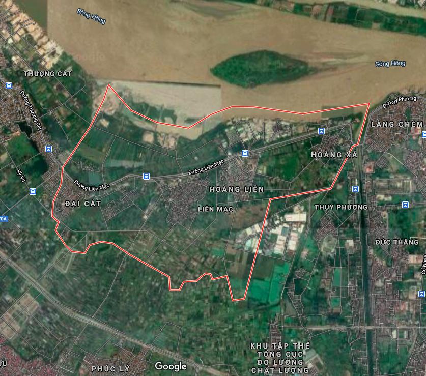 Kế hoạch sử dụng đất phường Liên Mạc, Bắc Từ Liêm, Hà Nội năm 2021 - Ảnh 2.