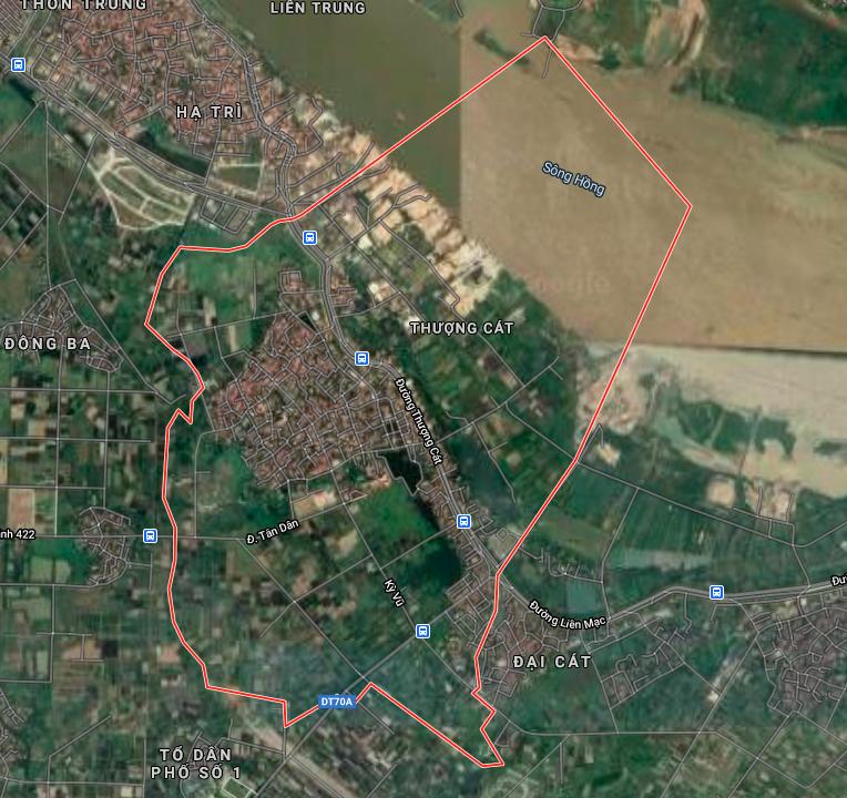 Kế hoạch sử dụng đất phường Thượng Cát, Bắc Từ Liêm, Hà Nội năm 2021 - Ảnh 2.
