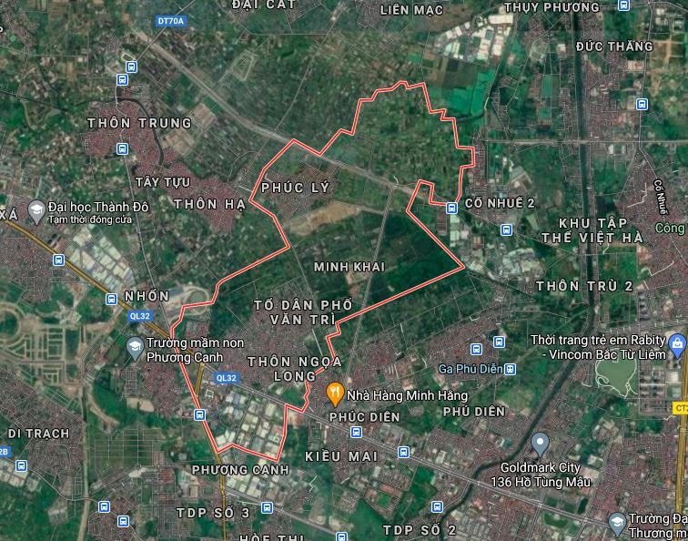 Kế hoạch sử dụng đất phường Minh Khai, Bắc Từ Liêm, Hà Nội năm 2021 - Ảnh 2.