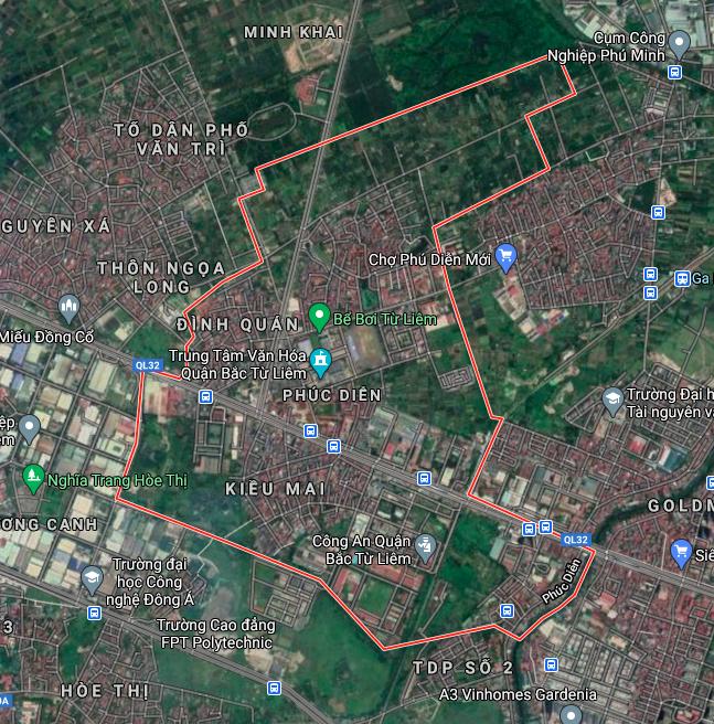 Kế hoạch sử dụng đất phường Phúc Diễn, Bắc Từ Liêm, Hà Nội năm 2021 - Ảnh 2.