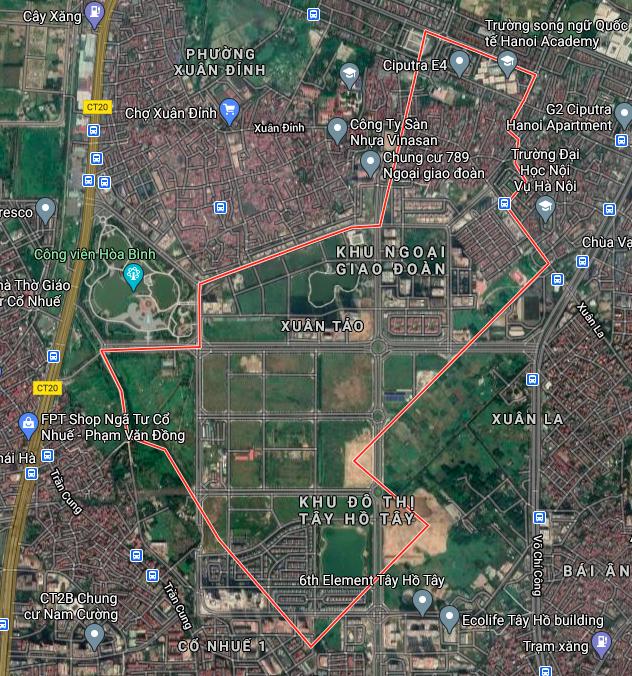 Kế hoạch sử dụng đất phường Xuân Tảo, Bắc Từ Liêm, Hà Nội năm 2021 - Ảnh 2.