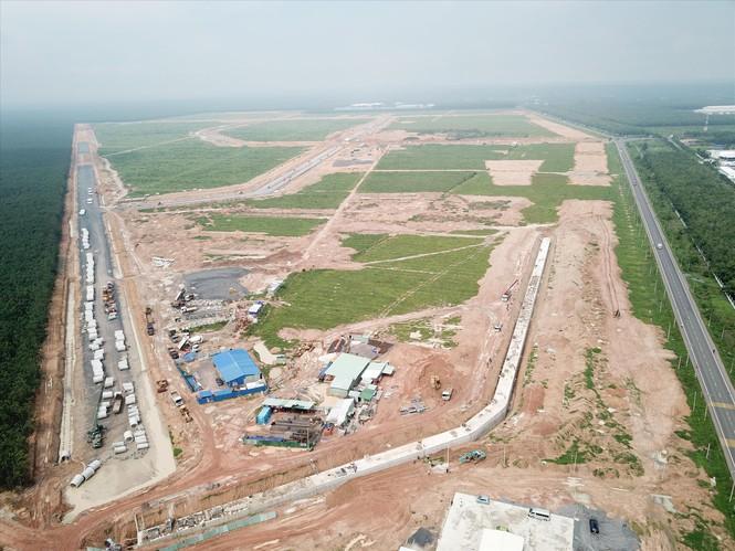 Dự án sân bay Long Thành: Còn khoảng 60 ha đất cơ quan, tổ chức chưa được thu hồi - Ảnh 1.