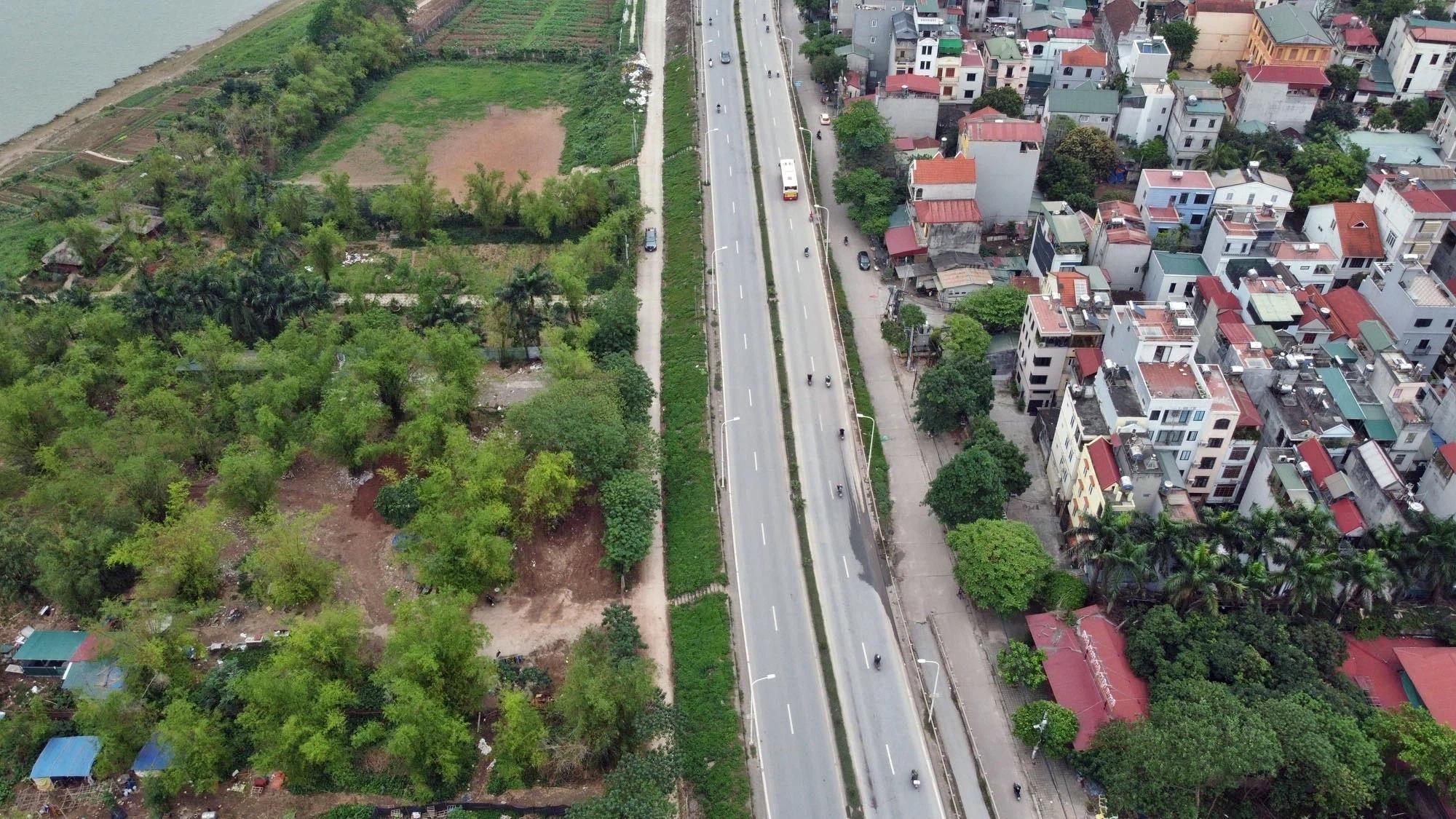 Toàn cảnh hiện trạng Phân khu đô thị sông Hồng trên địa bàn quận Tây Hồ - Ảnh 6.