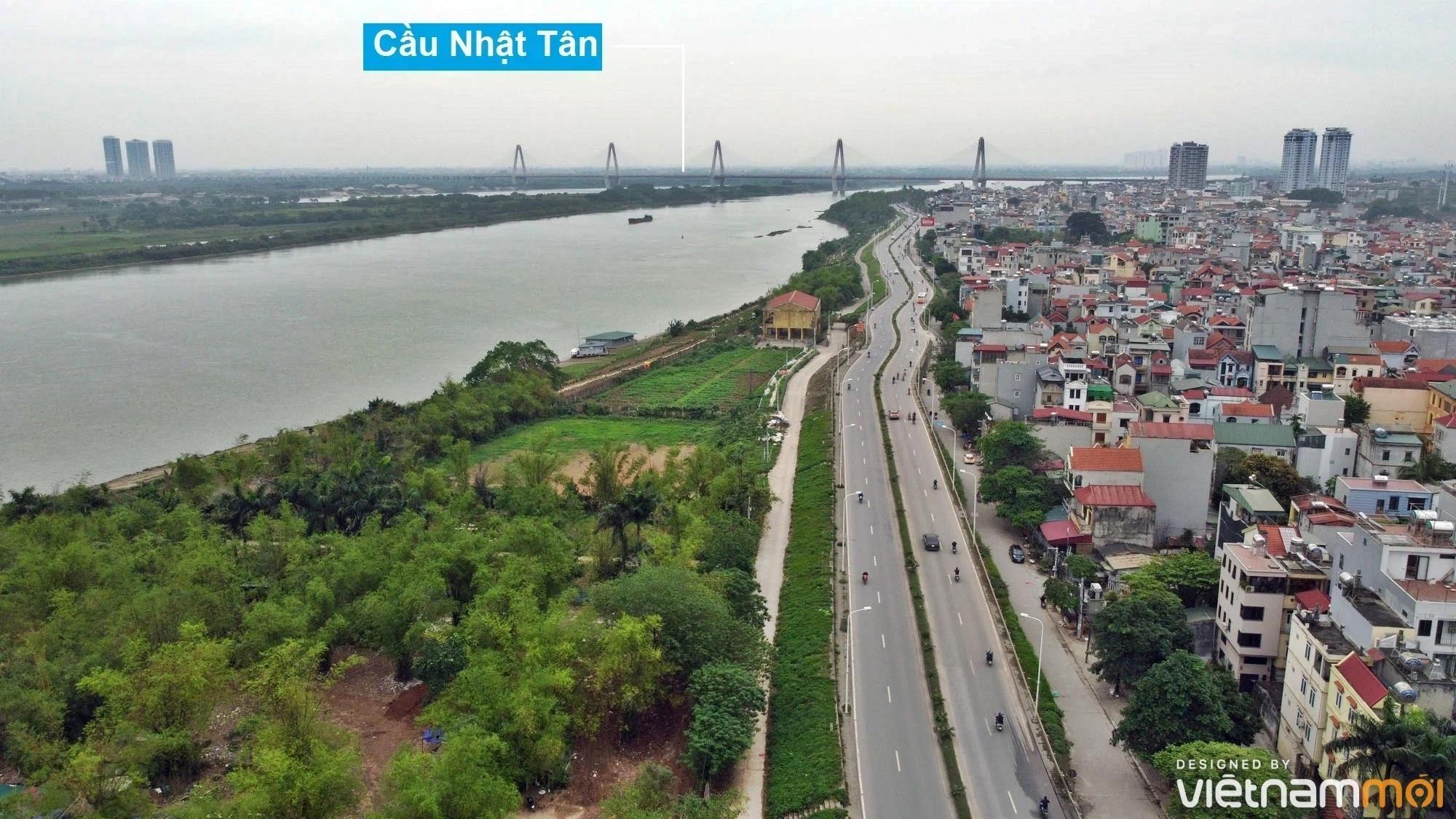 Toàn cảnh hiện trạng Phân khu đô thị sông Hồng trên địa bàn quận Tây Hồ - Ảnh 7.