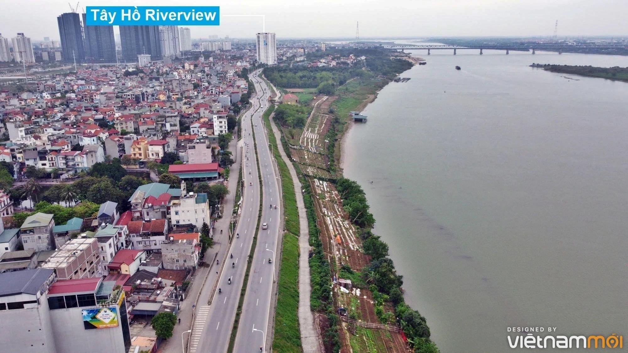 Toàn cảnh hiện trạng Phân khu đô thị sông Hồng trên địa bàn quận Tây Hồ - Ảnh 10.