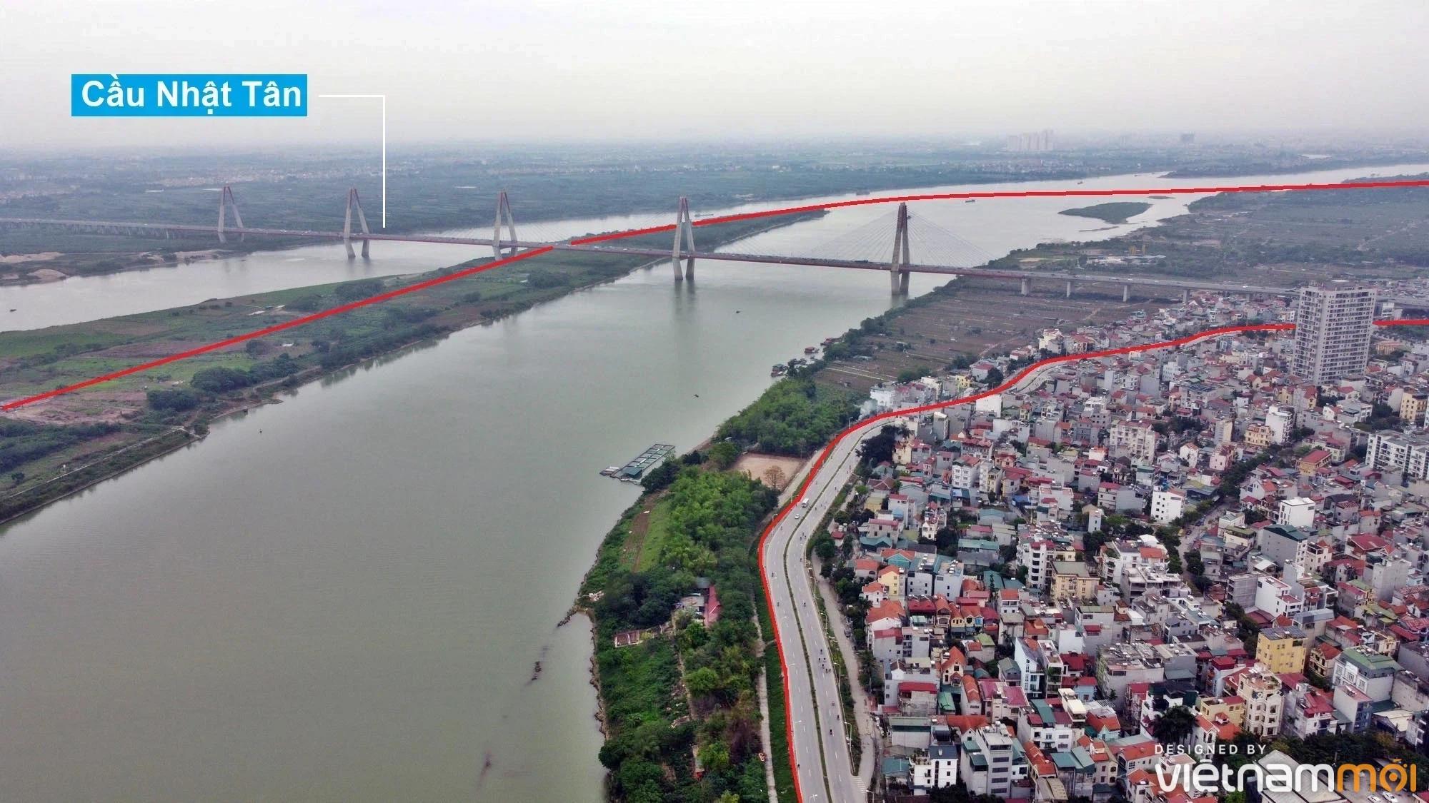 Toàn cảnh hiện trạng Phân khu đô thị sông Hồng trên địa bàn quận Tây Hồ - Ảnh 11.