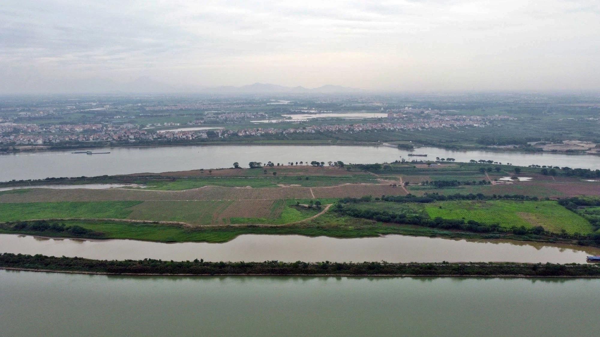 Toàn cảnh hiện trạng Phân khu đô thị sông Hồng trên địa bàn quận Tây Hồ - Ảnh 12.