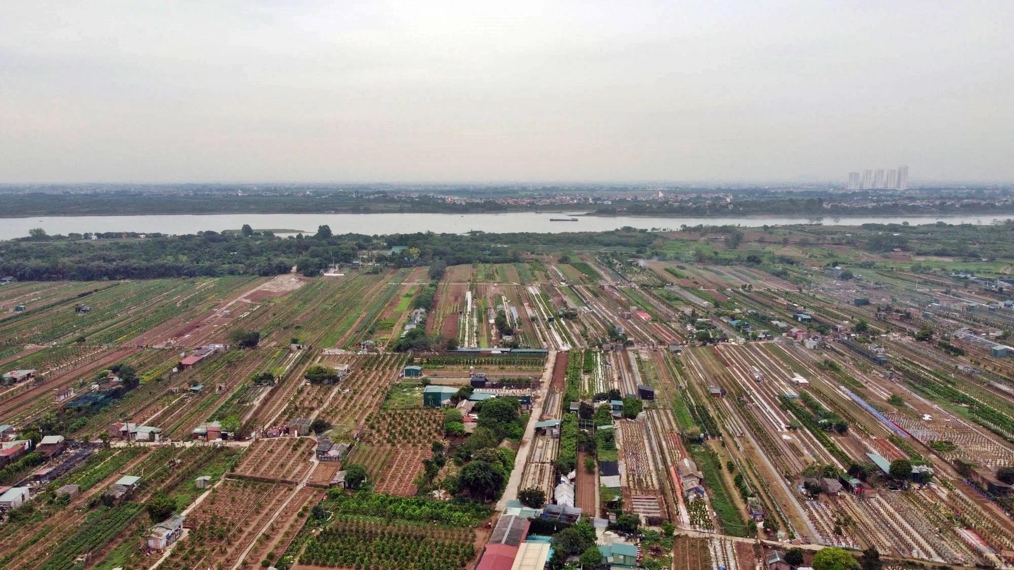 Toàn cảnh hiện trạng Phân khu đô thị sông Hồng trên địa bàn quận Tây Hồ - Ảnh 17.