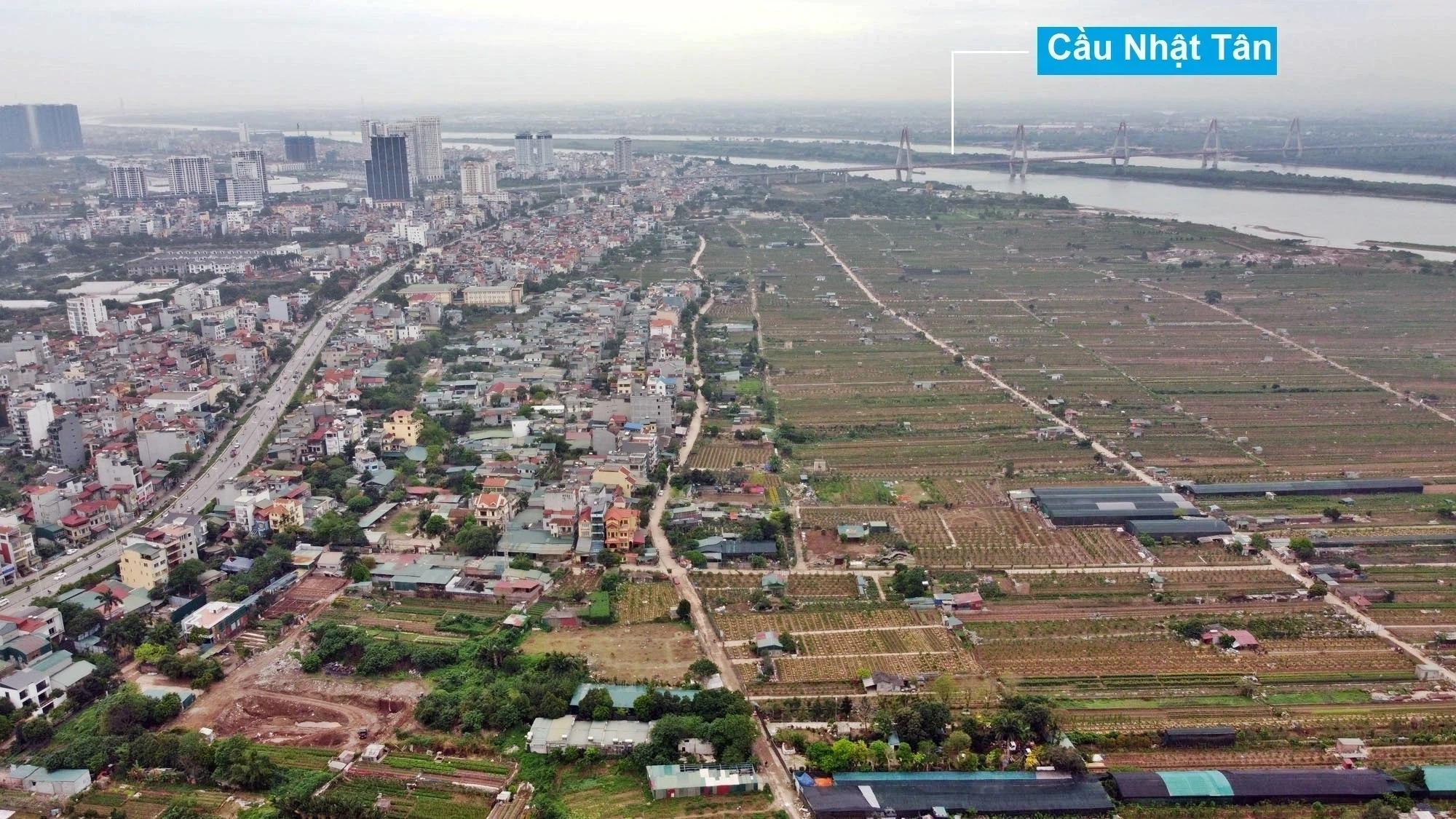 Toàn cảnh hiện trạng Phân khu đô thị sông Hồng trên địa bàn quận Tây Hồ - Ảnh 18.