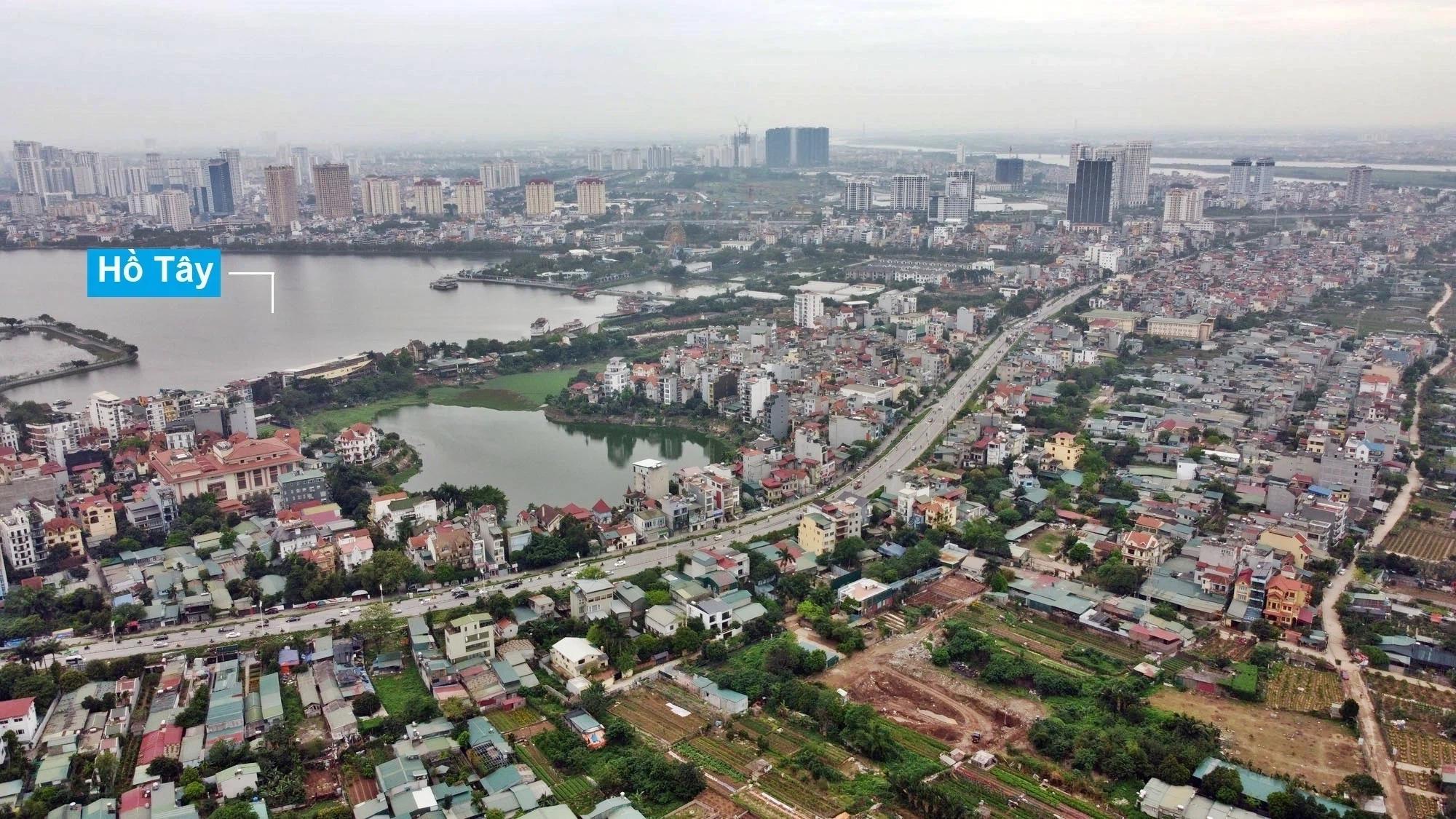 Toàn cảnh hiện trạng Phân khu đô thị sông Hồng trên địa bàn quận Tây Hồ - Ảnh 19.