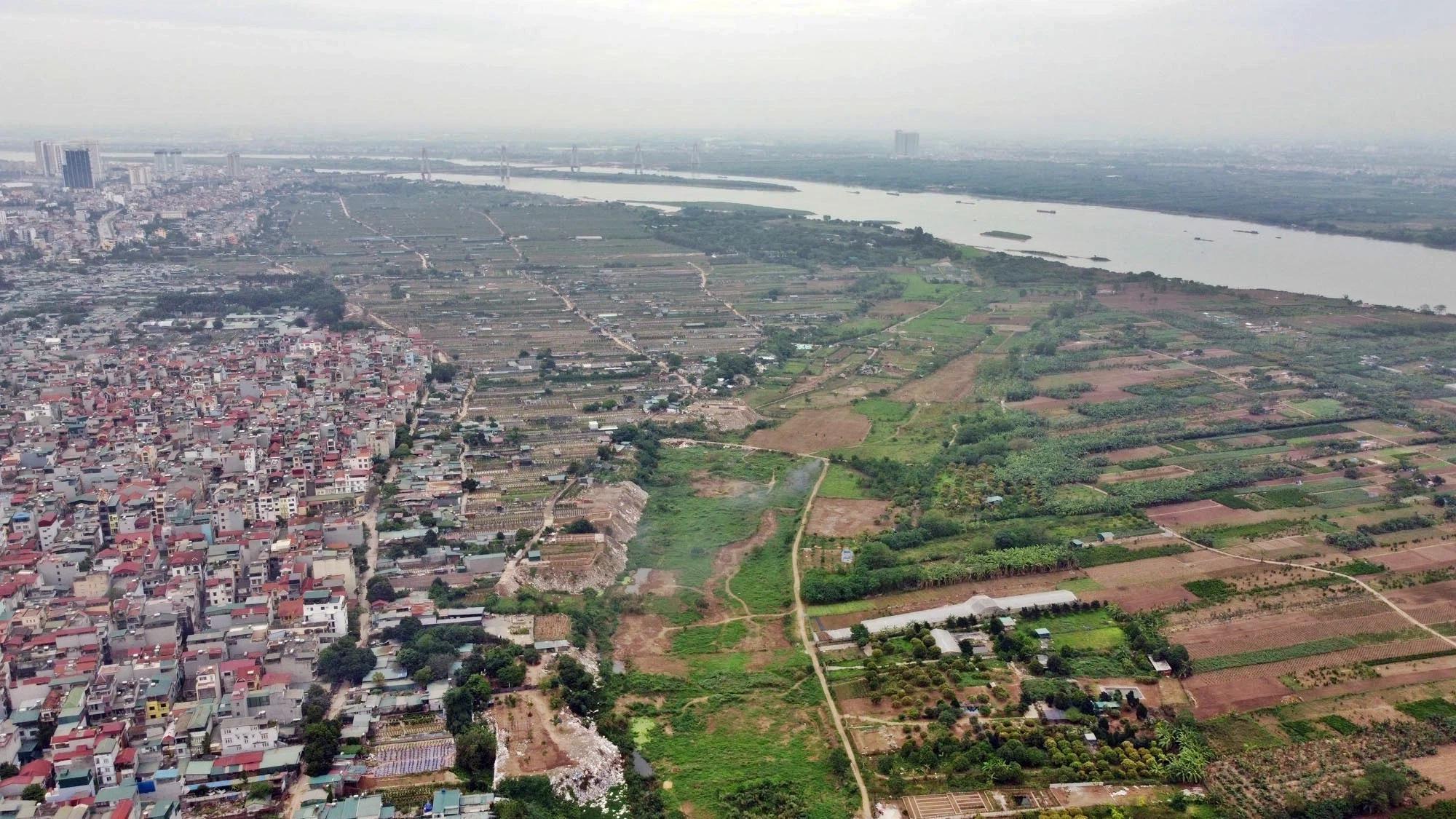 Toàn cảnh hiện trạng Phân khu đô thị sông Hồng trên địa bàn quận Tây Hồ - Ảnh 23.