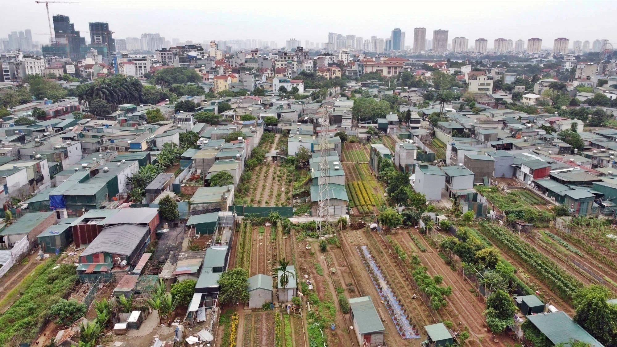 Toàn cảnh hiện trạng Phân khu đô thị sông Hồng trên địa bàn quận Tây Hồ - Ảnh 26.