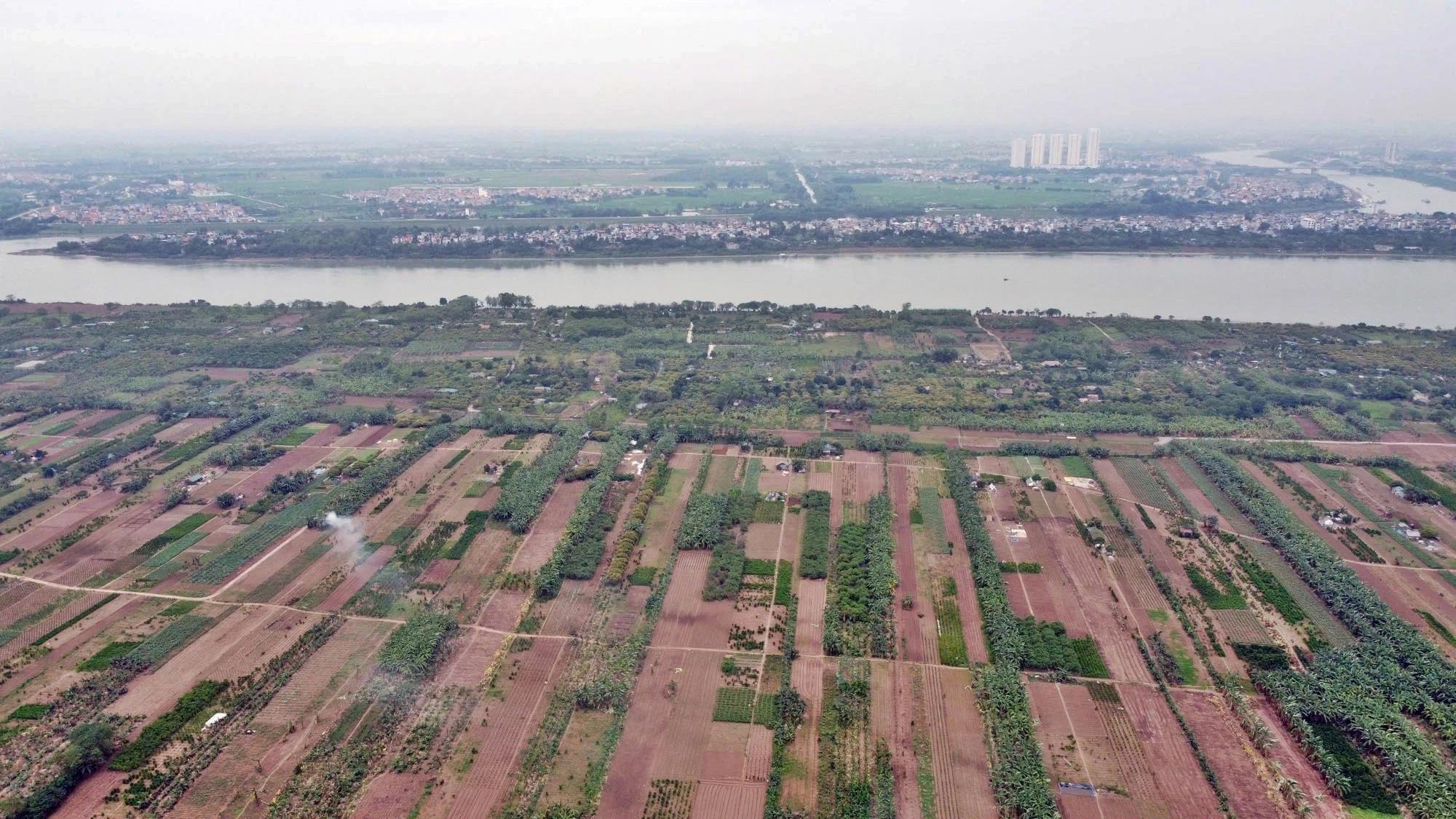 Toàn cảnh hiện trạng Phân khu đô thị sông Hồng trên địa bàn quận Tây Hồ - Ảnh 27.
