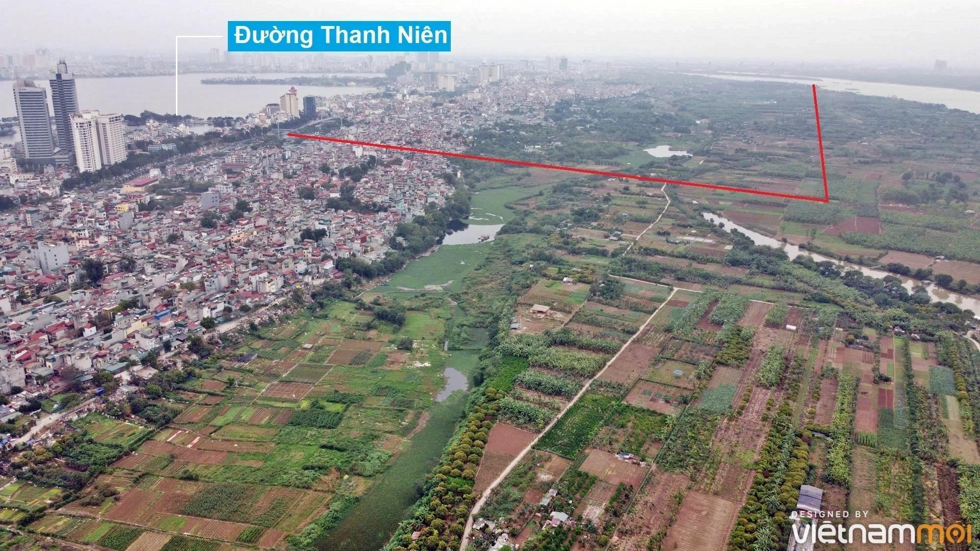 Toàn cảnh hiện trạng Phân khu đô thị sông Hồng trên địa bàn quận Tây Hồ - Ảnh 28.
