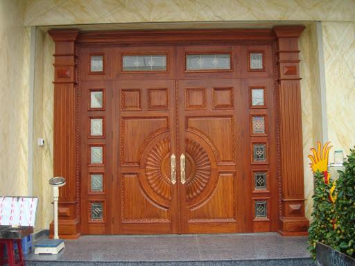 Tham khảo các mẫu cửa gỗ 4 cánh đẹp nhất năm 2021 - Ảnh 11.