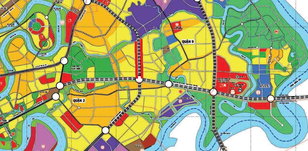 Vị trí sẽ mở Vành đai 2 TP HCM trong TP Thủ Đức (phần 4): Đoạn từ cầu Phú Hữu tới ĐCT TP HCM - Long Thành - Dầu Giây - Ảnh 2.