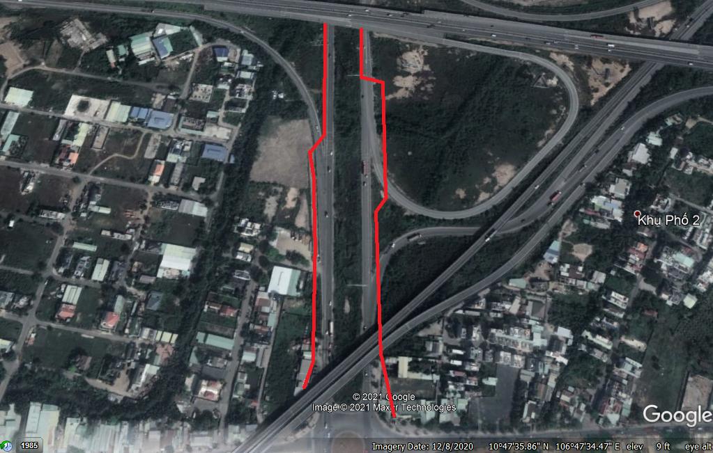 Vị trí sẽ mở Vành đai 2 qua TP Thủ Đức, TP HCM (phần 2): Đoạn từ đường Phạm Văn Đồng tới Quốc lộ 52 - Ảnh 2.