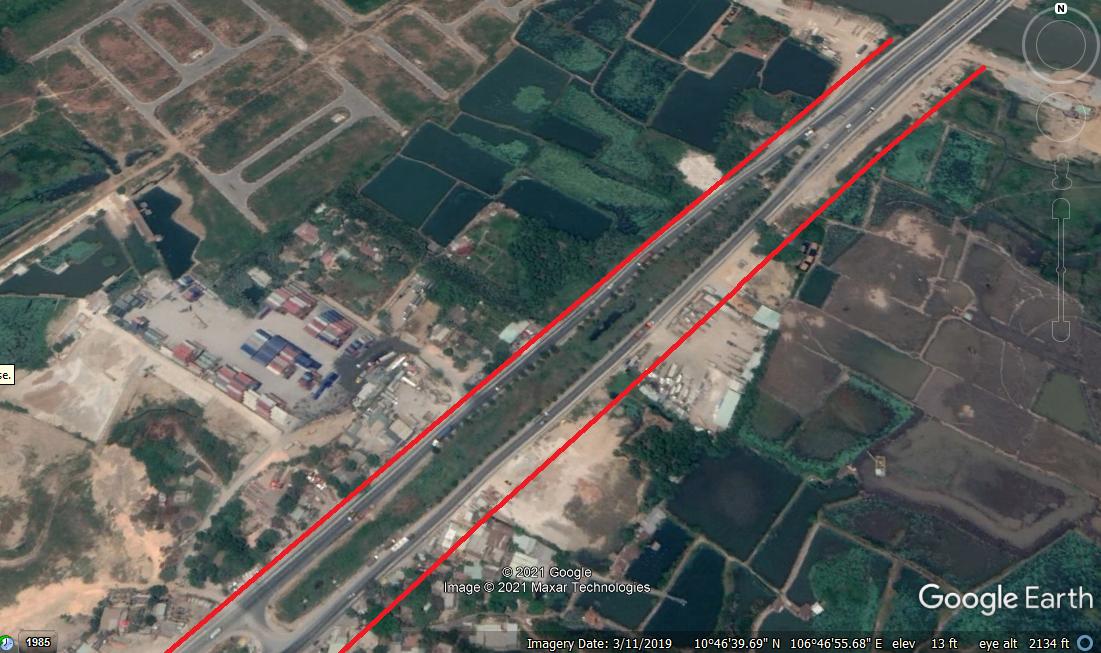 Vị trí sẽ mở Vành đai 2 qua TP Thủ Đức, TP HCM (phần 2): Đoạn từ đường Phạm Văn Đồng tới Quốc lộ 52 - Ảnh 5.