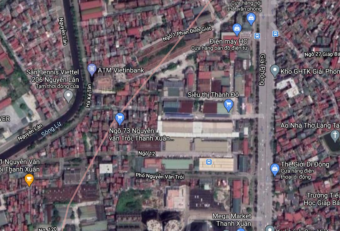 Đất dính quy hoạch ở phường Giáp Bát, Hoàng Mai, Hà Nội - Ảnh 2.