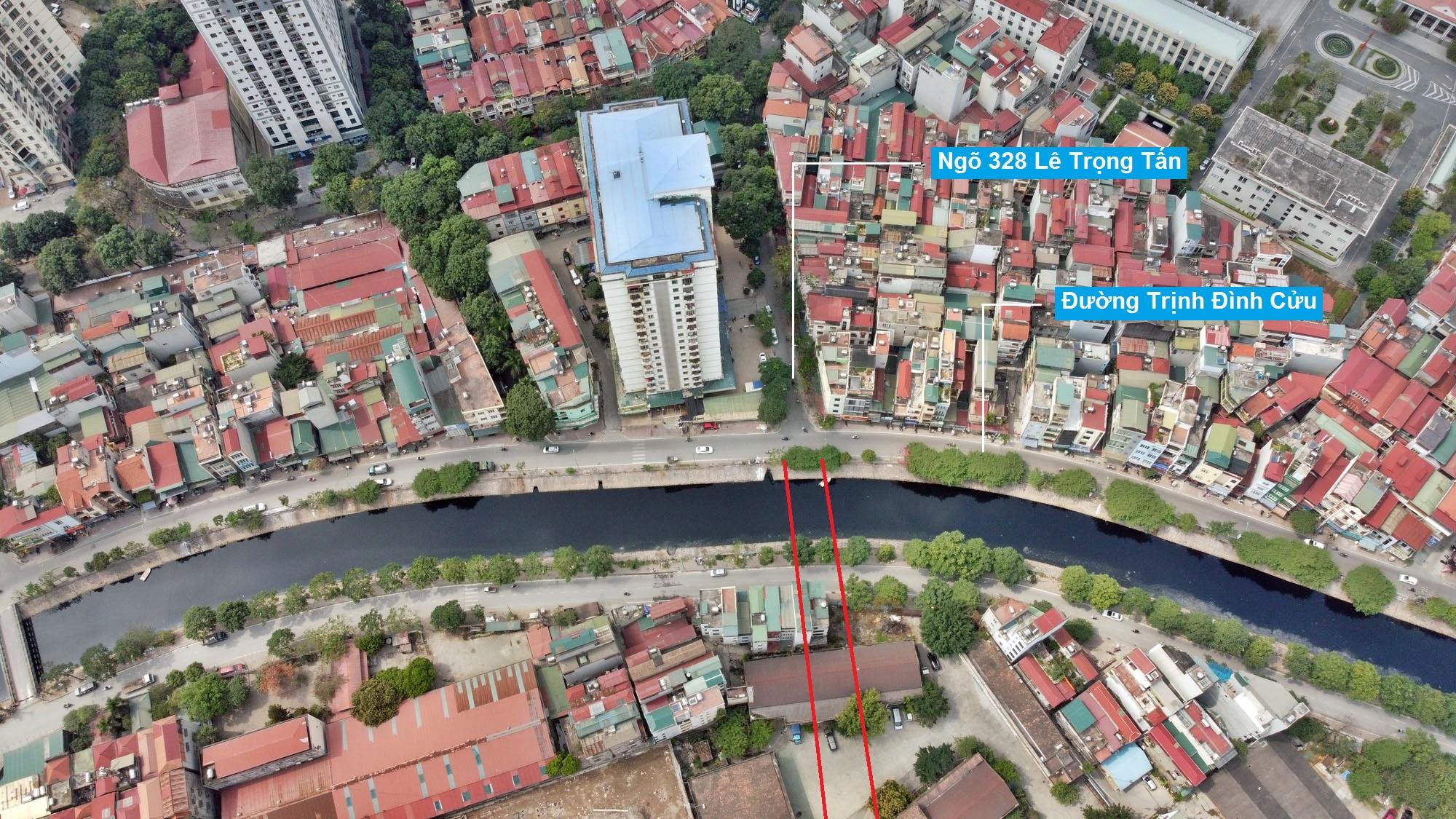 Đường sẽ mở theo quy hoạch ở phường Định Công, Hoàng Mai, Hà Nội (phần 2) - Ảnh 3.