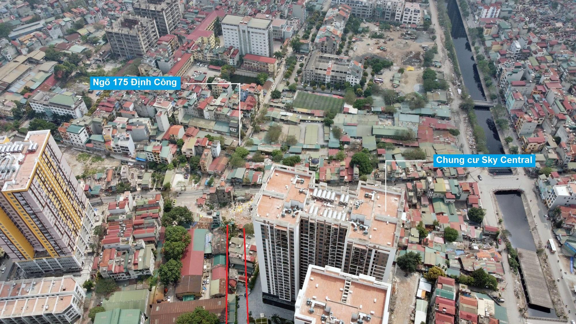 Đường sẽ mở theo quy hoạch ở phường Định Công, Hoàng Mai, Hà Nội (phần 3) - Ảnh 8.