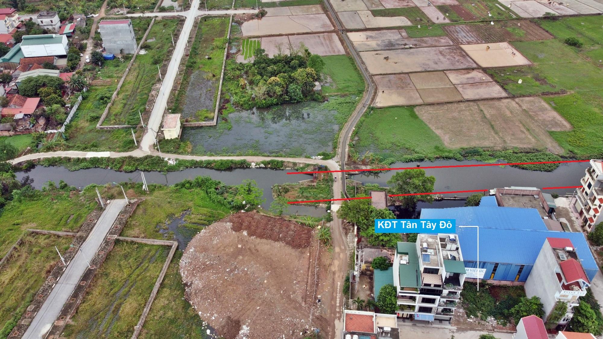 Đường sẽ mở theo quy hoạch ở xã Tân Lập, Đan Phượng, Hà Nội (phần 2) - Ảnh 11.