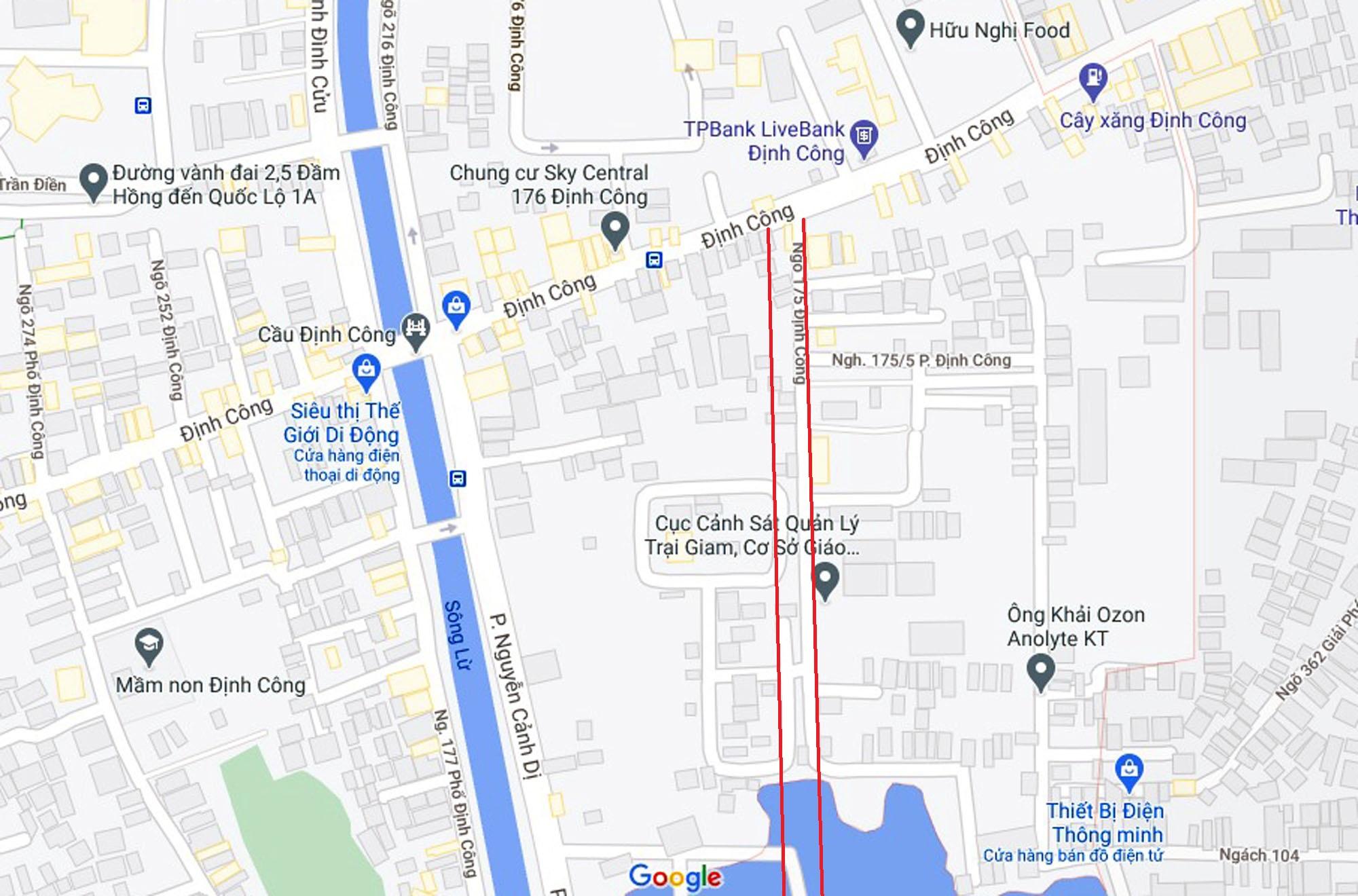 Đường sẽ mở theo quy hoạch ở phường Định Công, Hoàng Mai, Hà Nội (phần 3) - Ảnh 9.