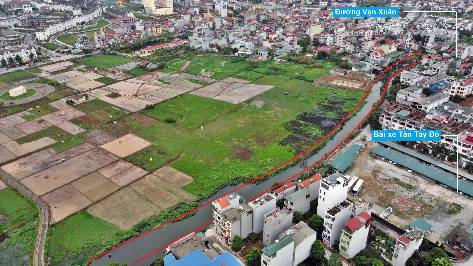 Đường sẽ mở theo quy hoạch ở xã Tân Lập, Đan Phượng, Hà Nội (phần 2) - Ảnh 12.