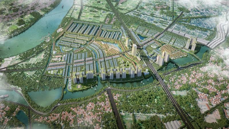 Điều chỉnh quy hoạch khu đô thị nhà vườn sinh thái 10.000 tỷ tại huyện Văn Giang - Ảnh 1.