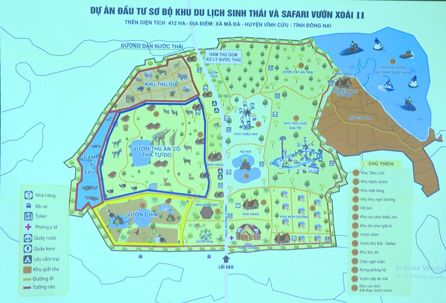 Đồng Nai sẽ cho thuê gần 413 ha đất rừng làm khu du lịch nghìn tỷ - Ảnh 1.