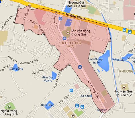 Hai khu đất dính quy hoạch ở phường Khương Mai, Thanh Xuân, Hà Nội - Ảnh 1.