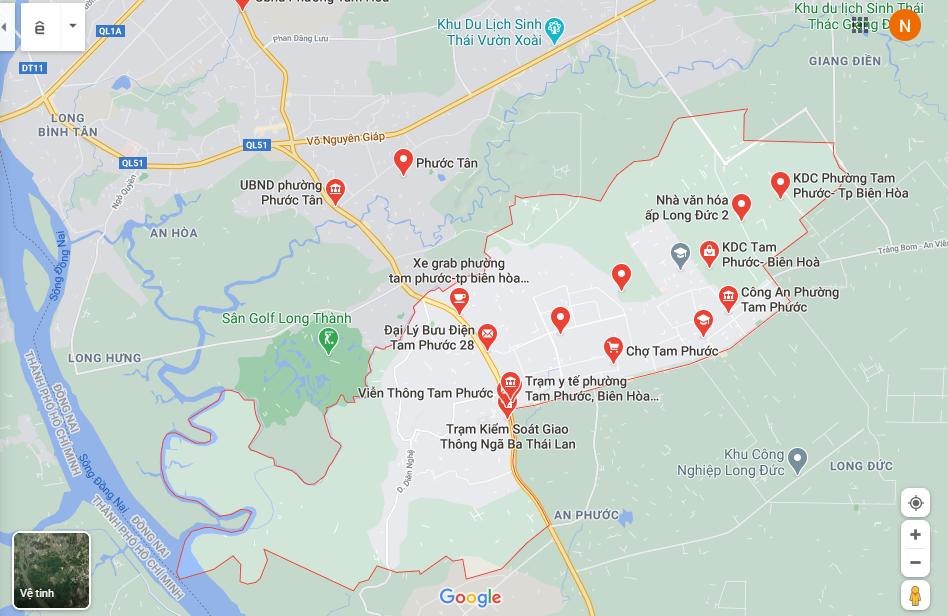 Đấu giá 4 thửa đất rộng hơn 3.000 m2 tại TP Biên Hòa, Đồng Nai, khởi điểm 2,3 tỷ đồng - Ảnh 1.