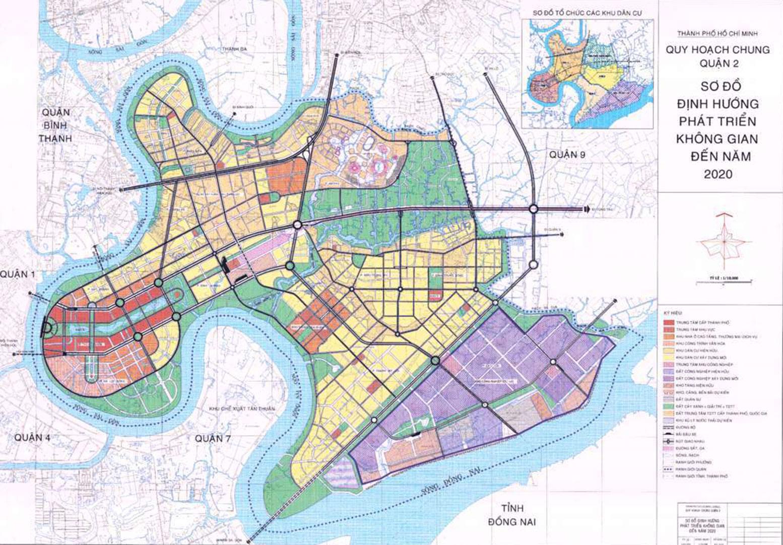 Bản đồ quy hoạch sử dụng đất quận 2, Thủ Đức, TP HCM - Ảnh 2.