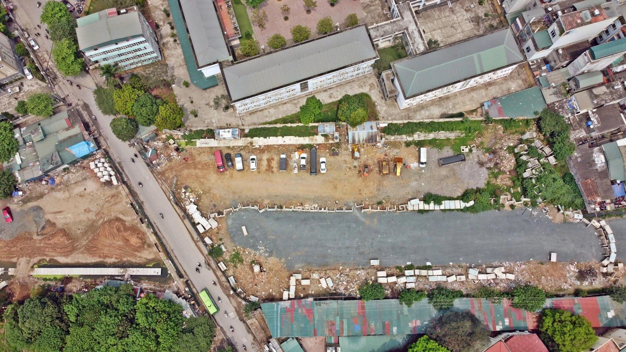 Toàn cảnh đường nối Lê Đức Thọ - Phạm Hùng đang mở theo quy hoạch ở Hà Nội - Ảnh 9.