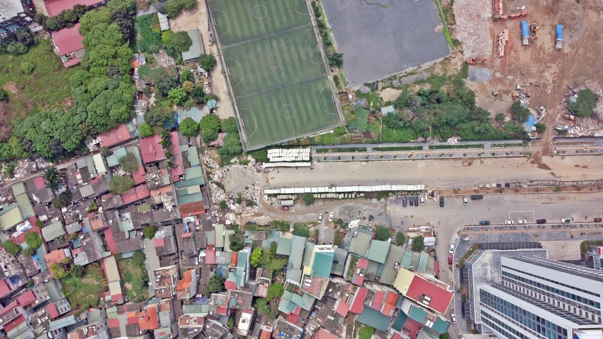 Toàn cảnh đường nối Lê Đức Thọ - Phạm Hùng đang mở theo quy hoạch ở Hà Nội - Ảnh 11.