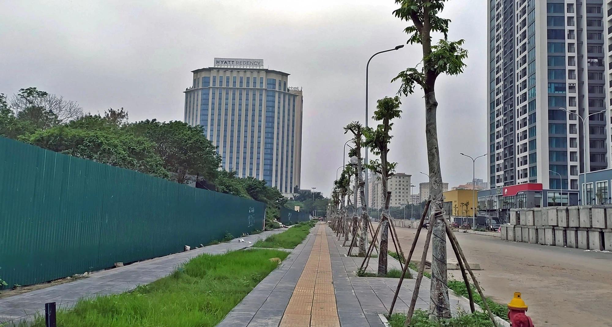 Toàn cảnh đường nối Lê Đức Thọ - Phạm Hùng đang mở theo quy hoạch ở Hà Nội - Ảnh 16.