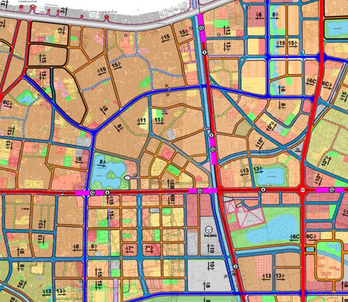Bản đồ quy hoạch giao thông phường Hoàng Văn Thụ, Hoàng Mai, Hà Nội - Ảnh 2.