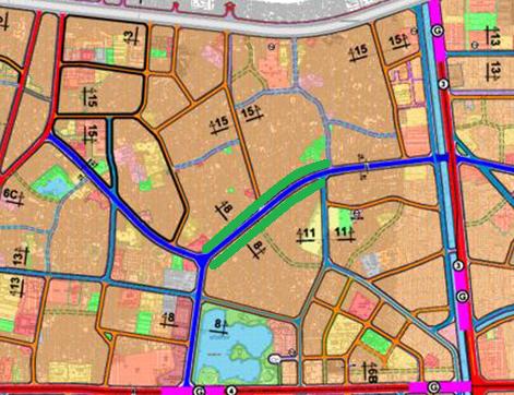 Đường sẽ mở ở phường Hoàng Văn Thụ, Hoàng Mai, Hà Nội - Ảnh 1.
