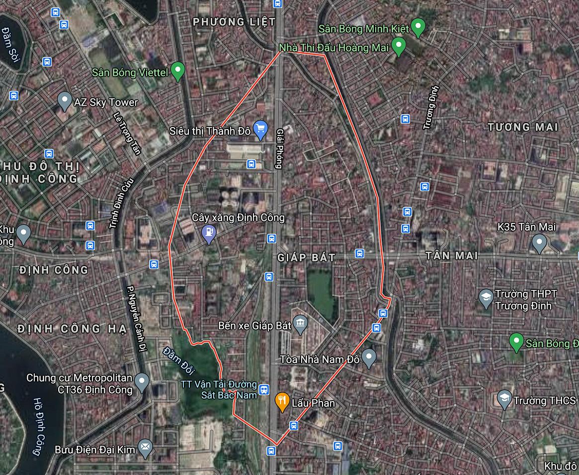 Kế hoạch sử dụng đất phường Giáp Bát, Hoàng Mai, Hà Nội năm 2021 - Ảnh 2.