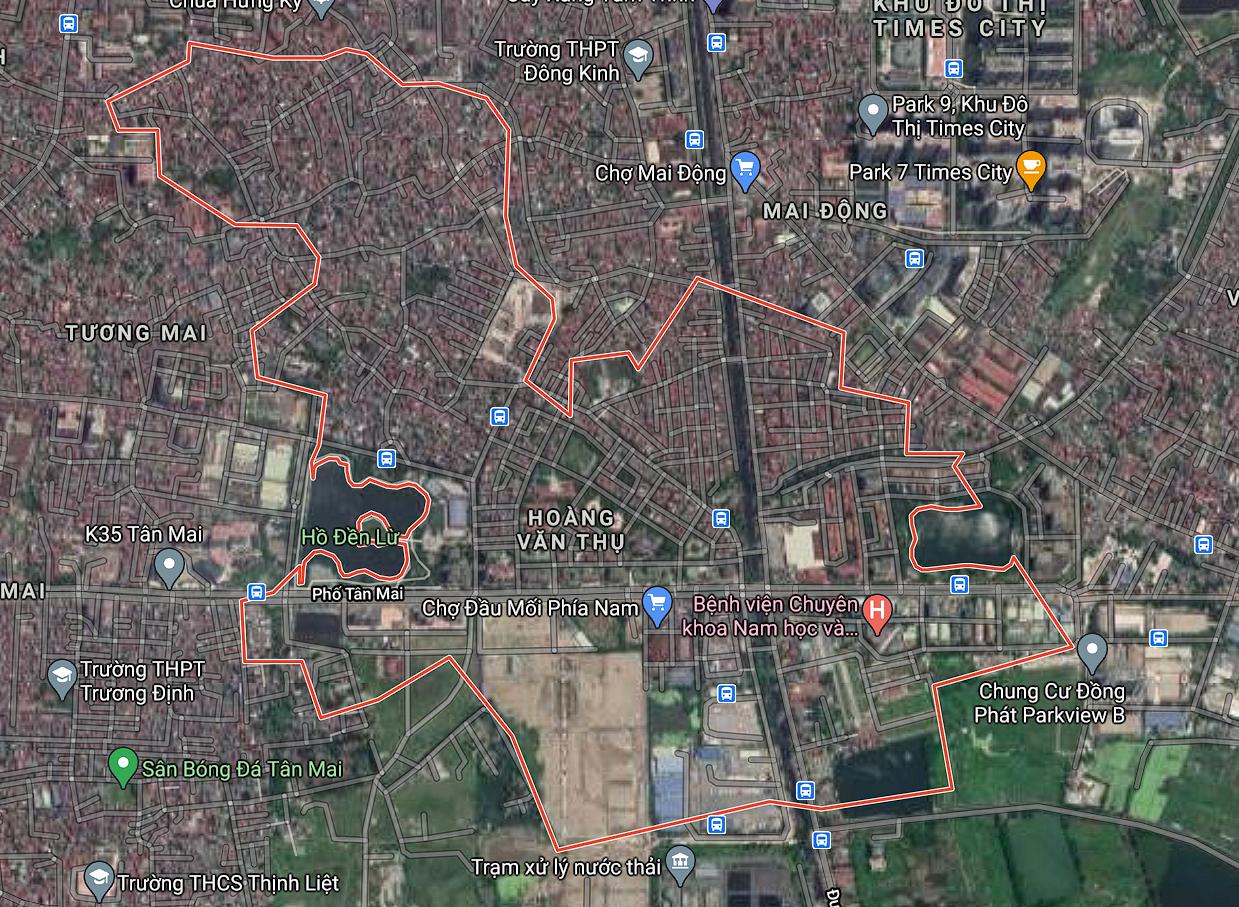 Kế hoạch sử dụng đất phường Hoàng Văn Thụ, Hoàng Mai, Hà Nội năm 2021 - Ảnh 2.