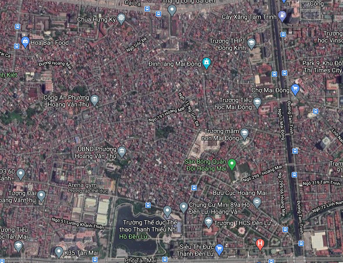 Đường sẽ mở ở phường Hoàng Văn Thụ, Hoàng Mai, Hà Nội - Ảnh 2.