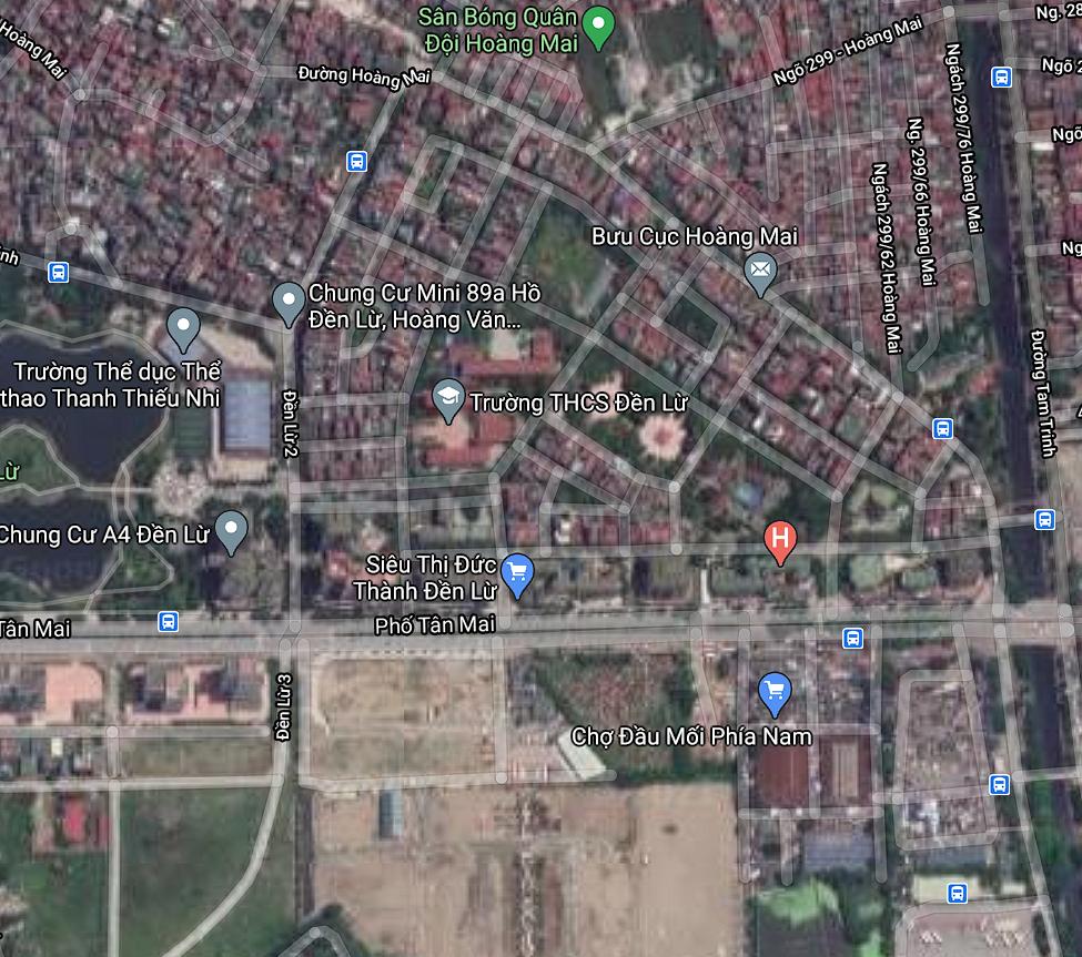 Đất dính quy hoạch ở phường Hoàng Văn Thụ, Hoàng Mai, Hà Nội - Ảnh 2.