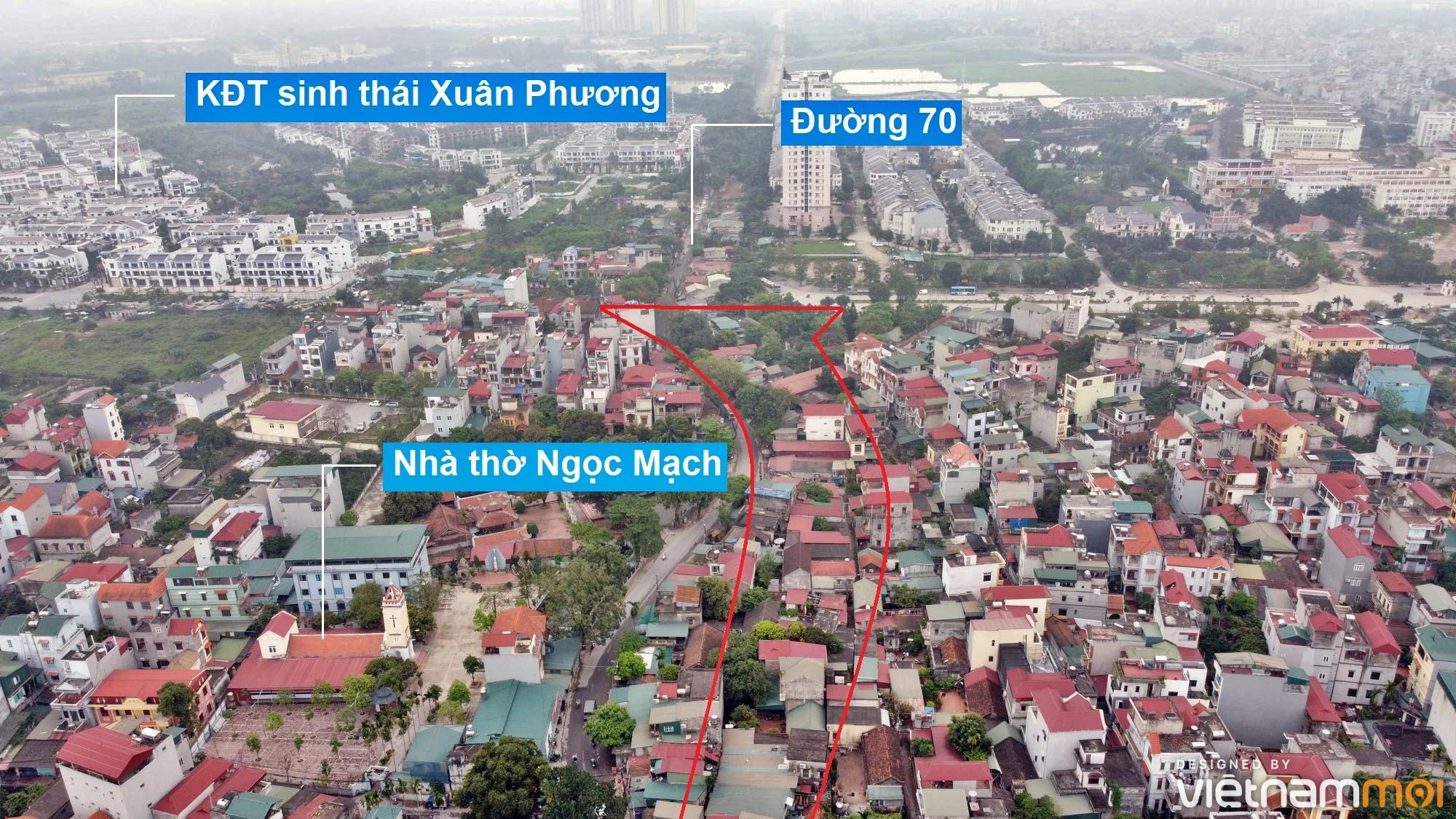Những khu đất sắp thu hồi để mở đường ở phường Xuân Phương, Nam Từ Liêm, Hà Nội (phần 2) - Ảnh 4.