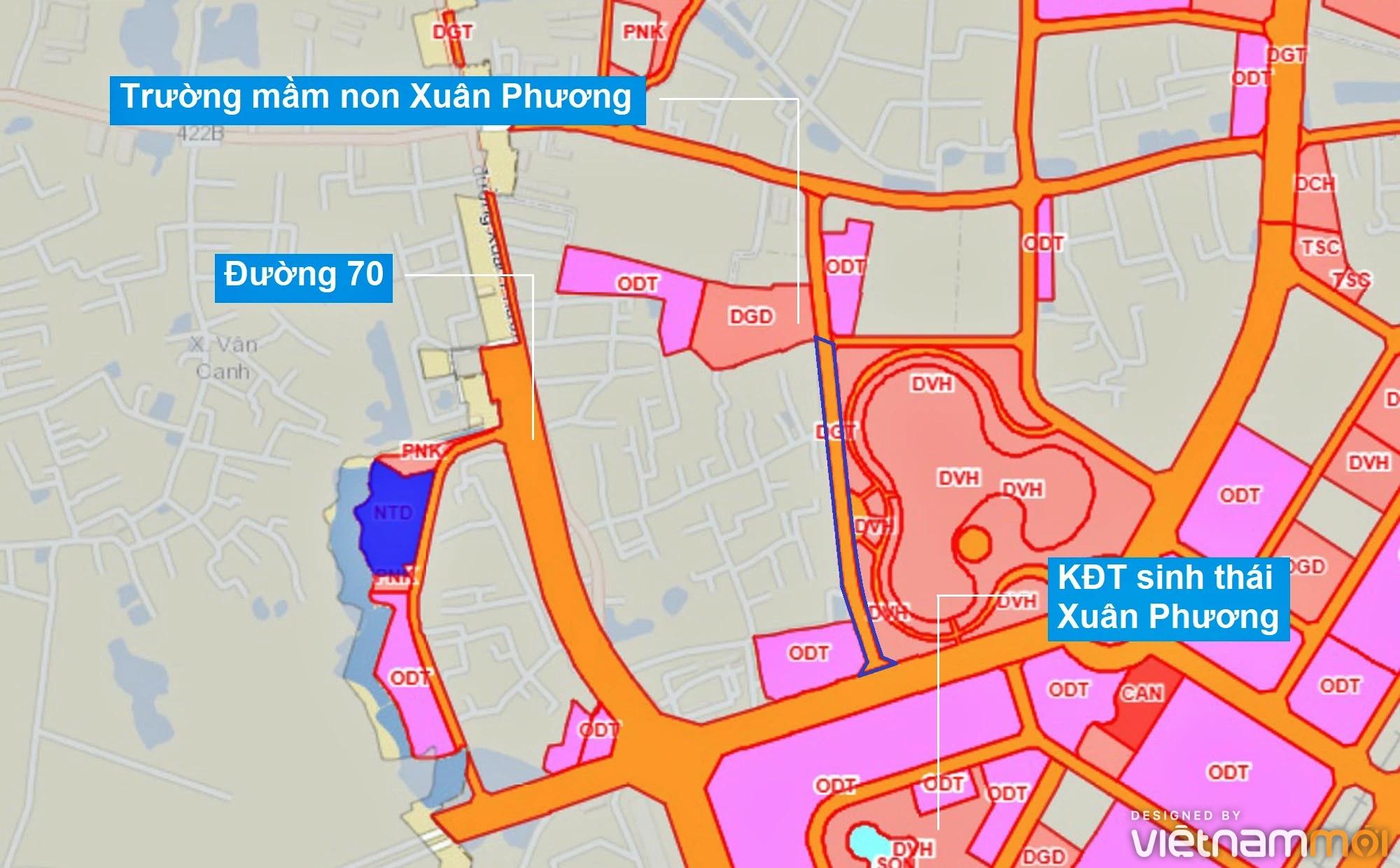 Những khu đất sắp thu hồi để mở đường ở phường Xuân Phương, Nam Từ Liêm, Hà Nội (phần 2) - Ảnh 7.
