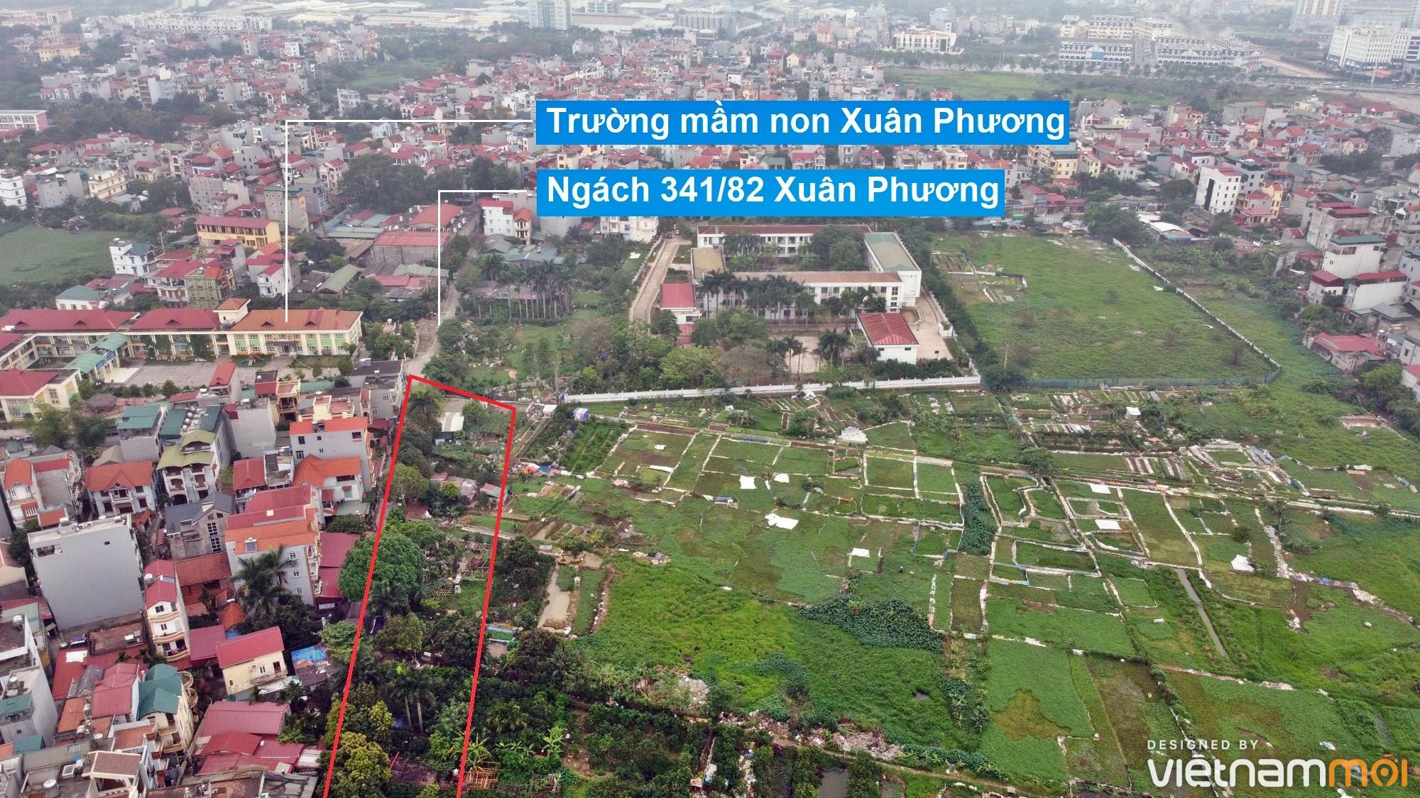 Những khu đất sắp thu hồi để mở đường ở phường Xuân Phương, Nam Từ Liêm, Hà Nội (phần 2) - Ảnh 9.