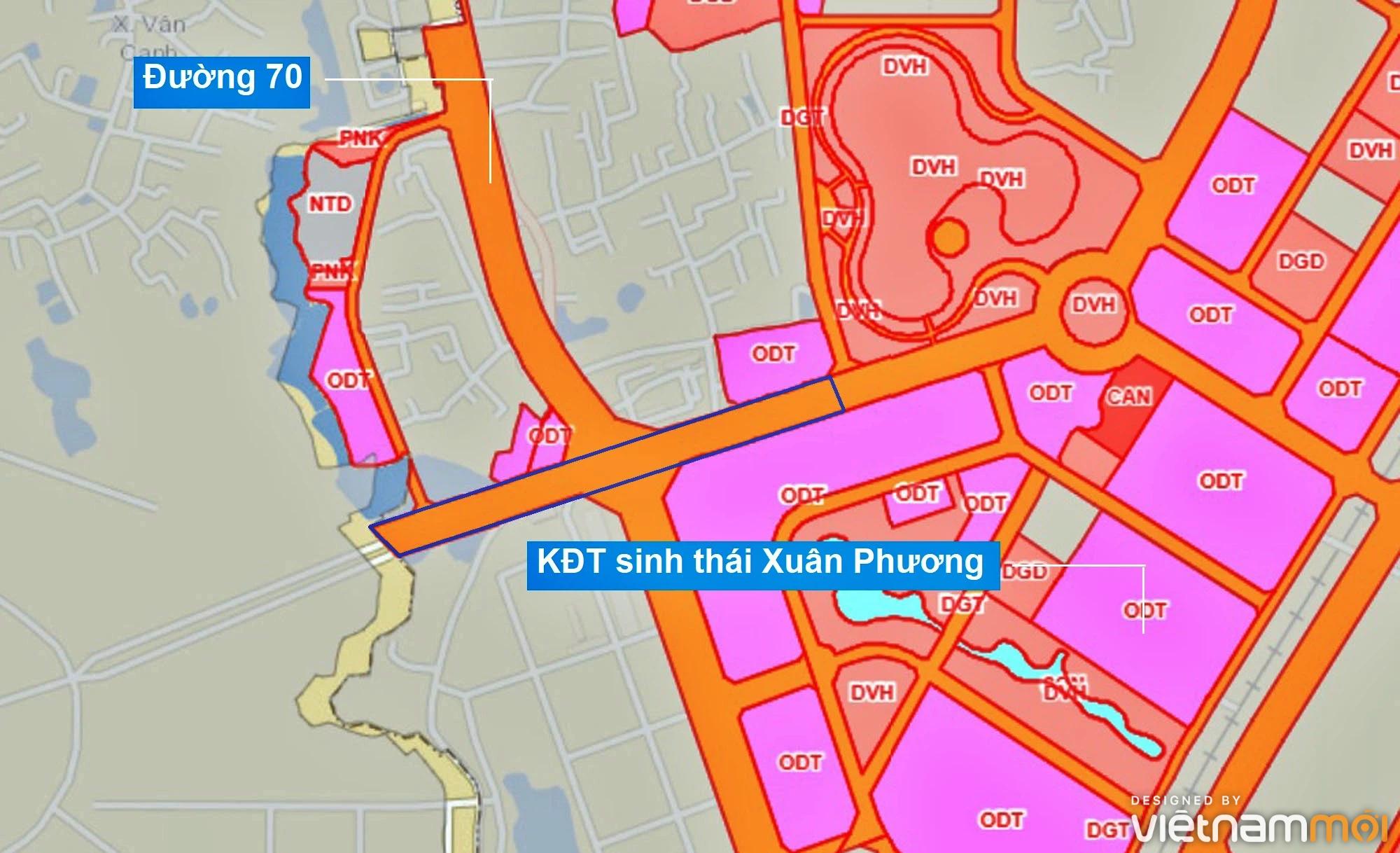 Những khu đất sắp thu hồi để mở đường ở phường Xuân Phương, Nam Từ Liêm, Hà Nội (phần 2) - Ảnh 12.