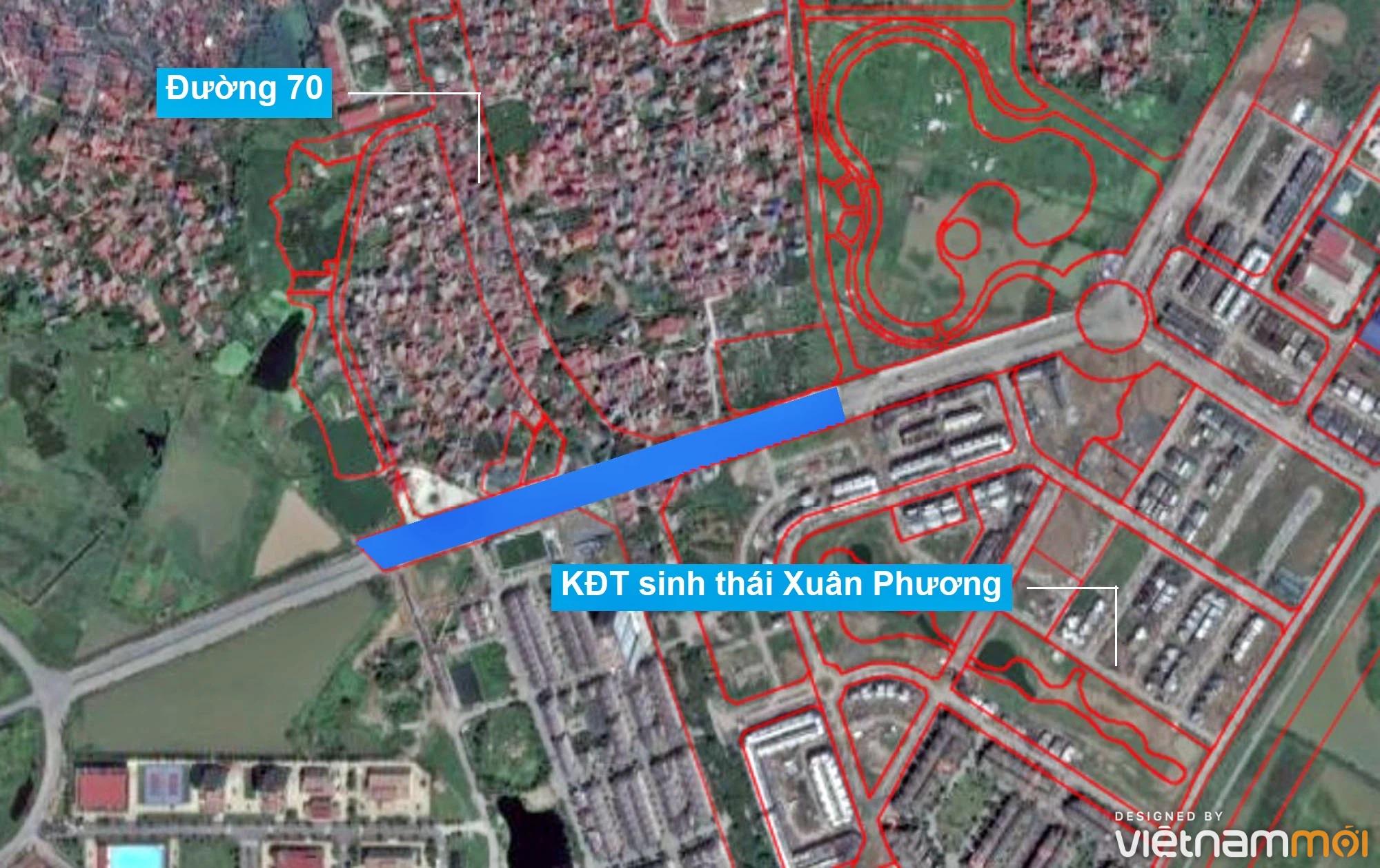 Những khu đất sắp thu hồi để mở đường ở phường Xuân Phương, Nam Từ Liêm, Hà Nội (phần 2) - Ảnh 13.